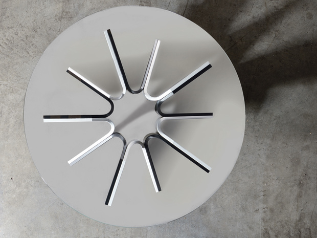 astro coffee table, Lattas, by Yiannis Georgaras