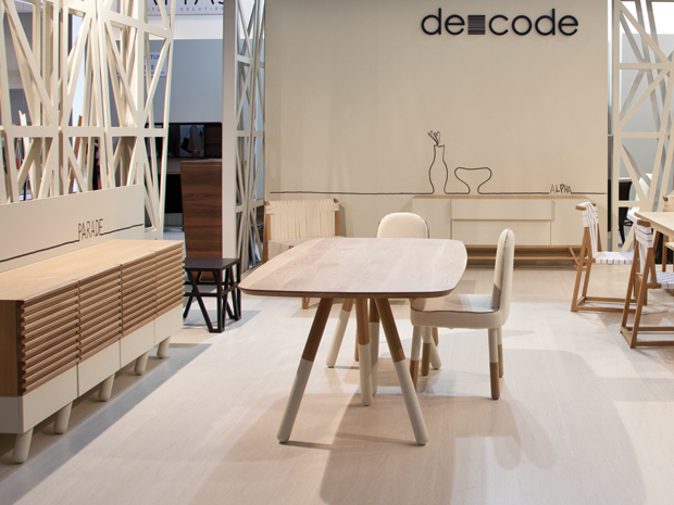 de-code at i saloni 2012