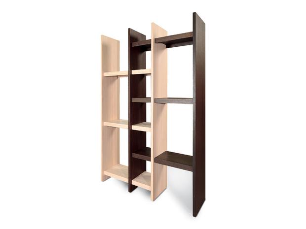 diada bookcase, Lattas, by Yiannis Georgaras